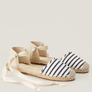 LOFT espadrille shoes.